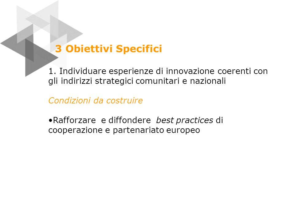 Obiettivi Specifici 2.