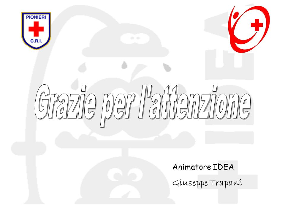 Animatore IDEA Giuseppe Trapani