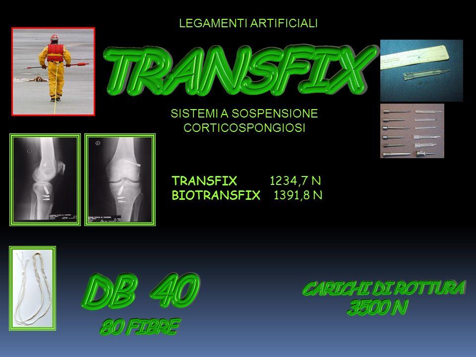 TRANSFIX 1234,7 N BIOTRANSFIX 1391,8 N SISTEMI A SOSPENSIONE CORTICOSPONGIOSI