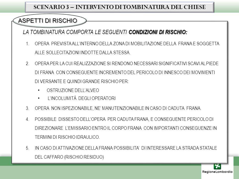 LOPERA ARRECA IMPATTO AMBIENTALE PER : 1.SOTTRAZIONE DI CIRCA 1 KM DI ALVEO ALLE CONDIZIONI DI NATURALITA (COPERTURA).