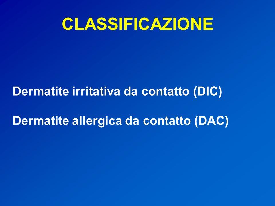 La prevalenza della dermatite da contatto (irritativa e allergica) nella popolazione generale è stata stimata nellordine dell1,5-5,4%.