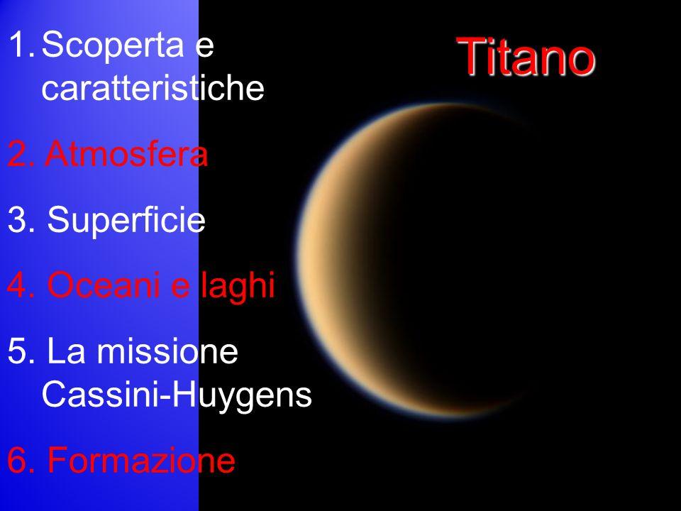 Titano 1.Scoperta e caratteristiche 2.Atmosfera 3.