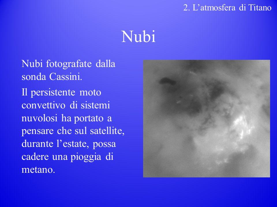 Nubi Nubi fotografate dalla sonda Cassini.
