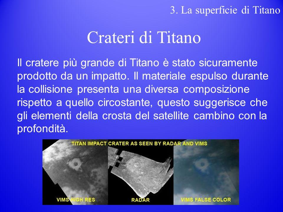 Il cratere più grande di Titano è stato sicuramente prodotto da un impatto.
