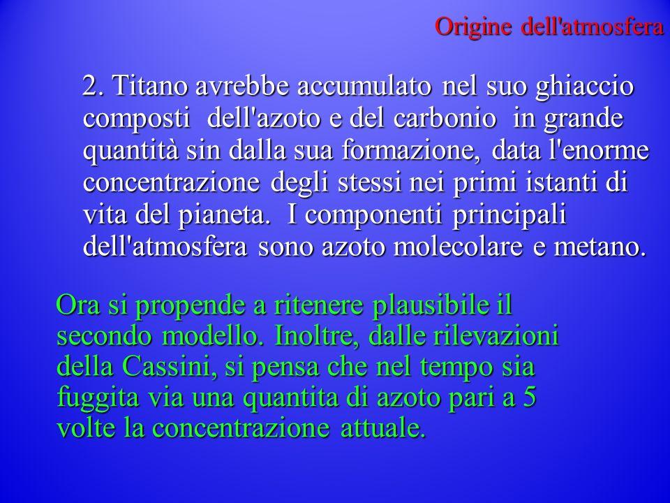 Origine dell atmosfera 2.