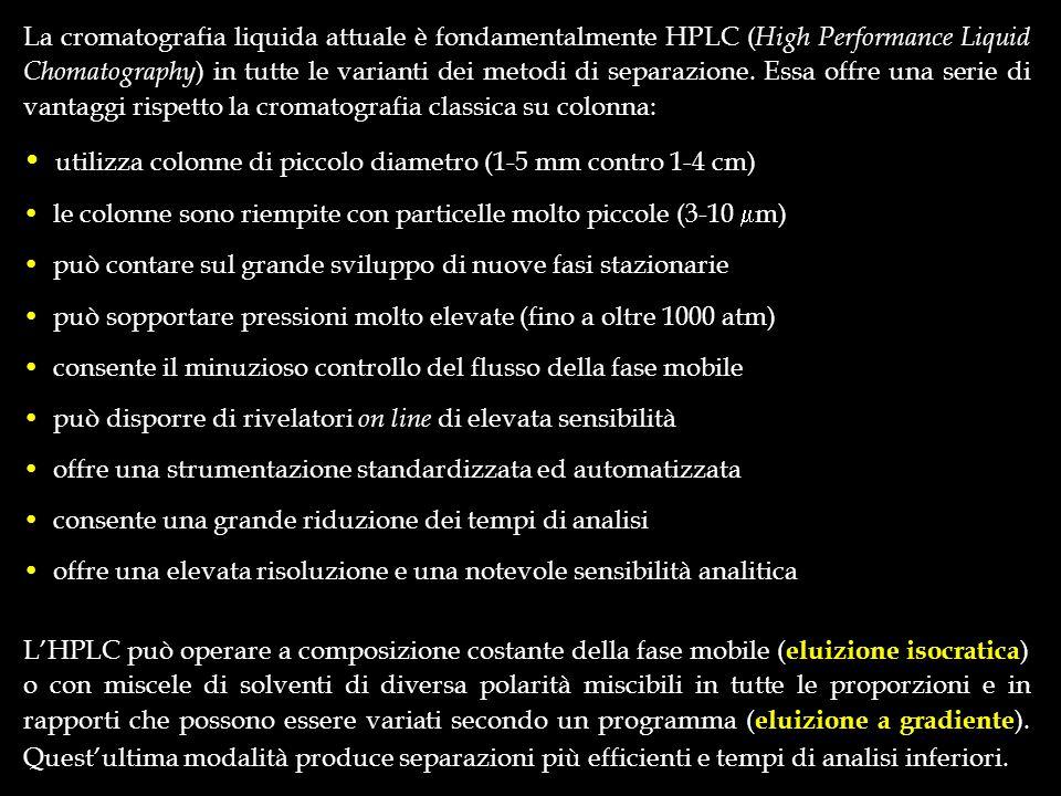 tV c < t R B tV c > t R B A B AB AB EFFETTI DELLA DIMENSIONE DELLA CELLA A FLUSSO SULLA RIVELAZIONE DEI SOLUTI BB Giorgio Bonaga