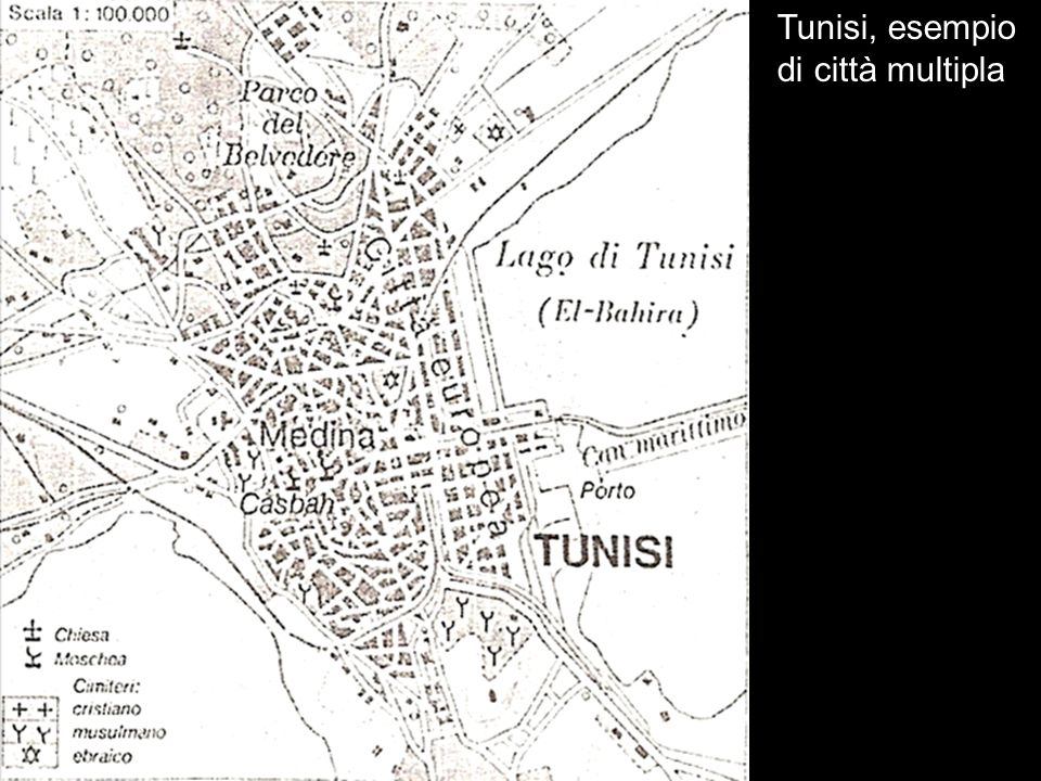 Tunisi, esempio di città multipla