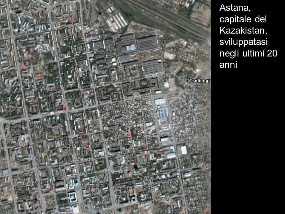 Astana, capitale del Kazakistan, sviluppatasi negli ultimi 20 anni