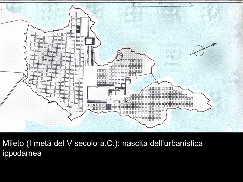 Mileto (I metà del V secolo a.C.): nascita dellurbanistica ippodamea