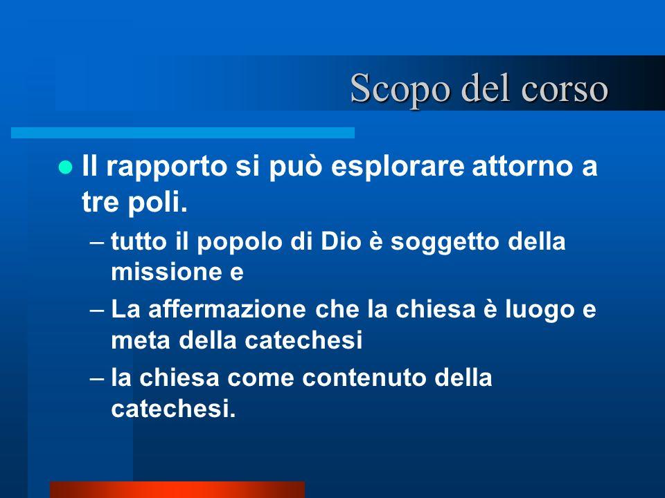 1.1.i documenti catechistici 1.1.3. Rinnovamento della catechesi in Italia – 12.