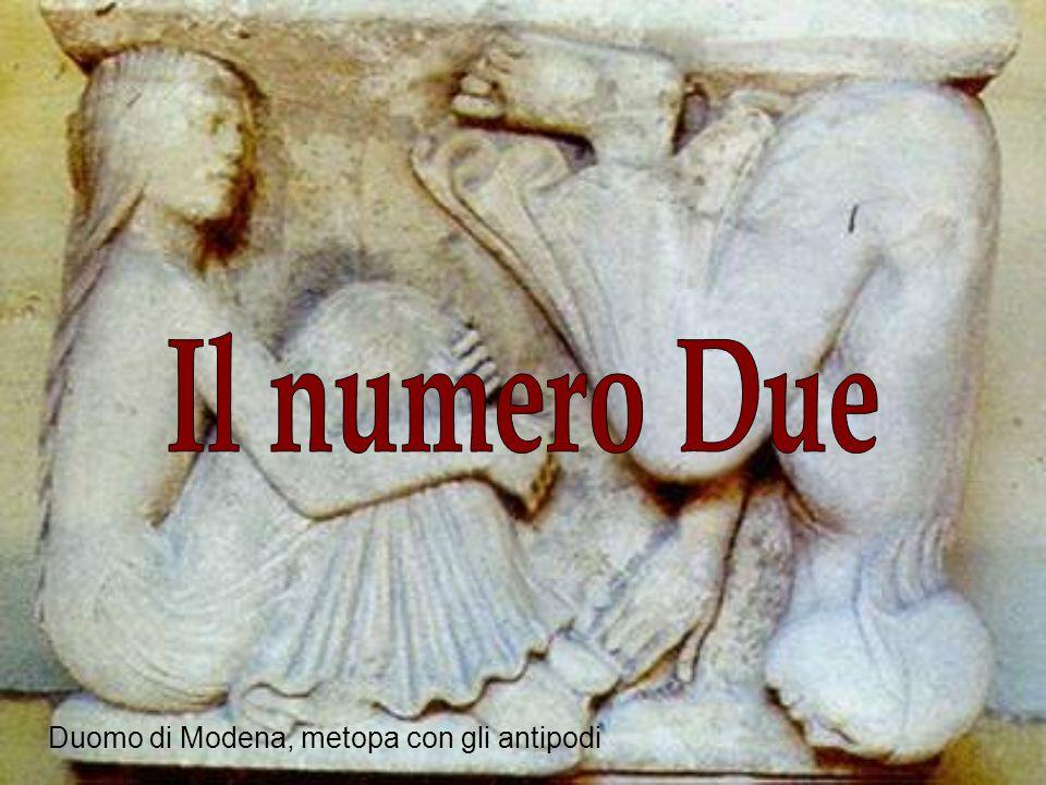 Il numero due deriva dalla divisione dellunità ed è il simbolo della separazione.