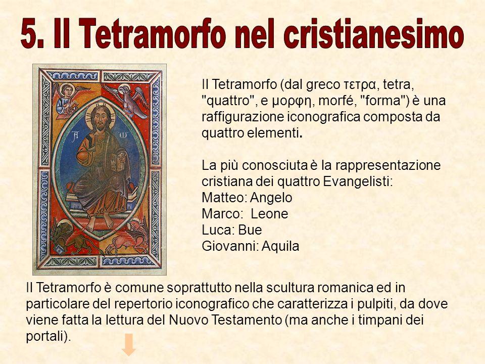 Il Tetramorfo (dal greco τετρα, tetra,