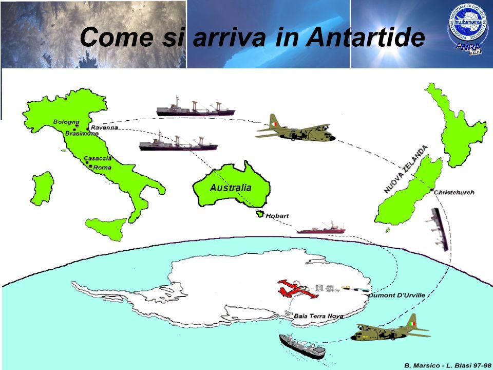 Australia Come si arriva in Antartide