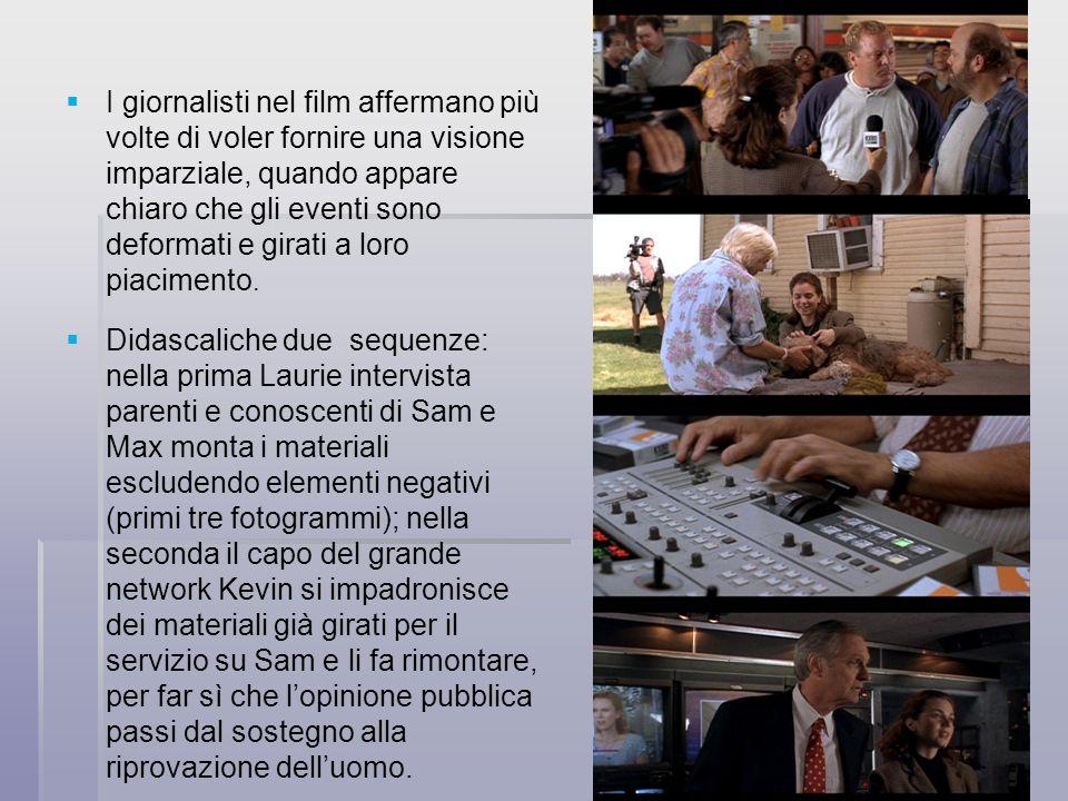 I giornalisti nel film affermano più volte di voler fornire una visione imparziale, quando appare chiaro che gli eventi sono deformati e girati a loro