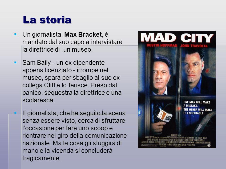 La storia Un giornalista, Max Bracket, è mandato dal suo capo a intervistare la direttrice di un museo. Sam Baily - un ex dipendente appena licenziato