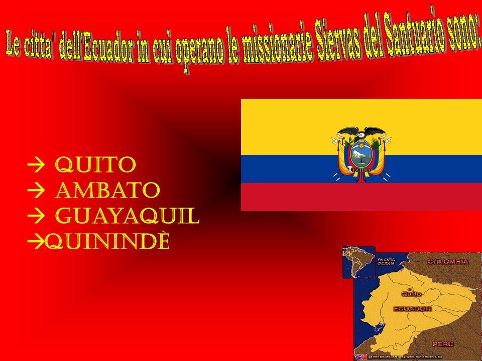Quito Ambato Guayaquil Quinindè