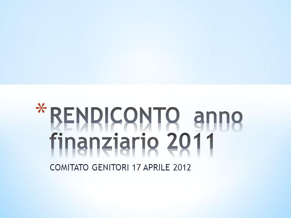 COMITATO GENITORI 17 APRILE 2012