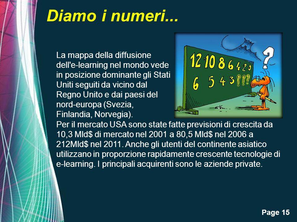 Page 15 Diamo i numeri...