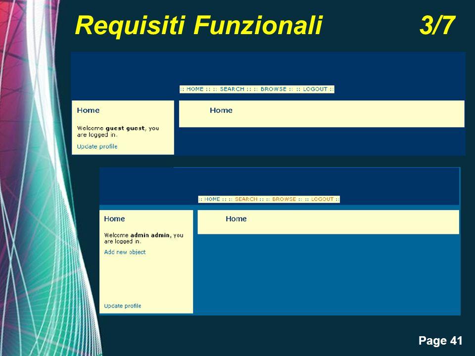 Page 41 Requisiti Funzionali 3/7