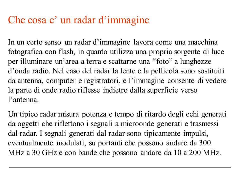 Che cosa e un radar dimmagine In un certo senso un radar dimmagine lavora come una macchina fotografica con flash, in quanto utilizza una propria sorg