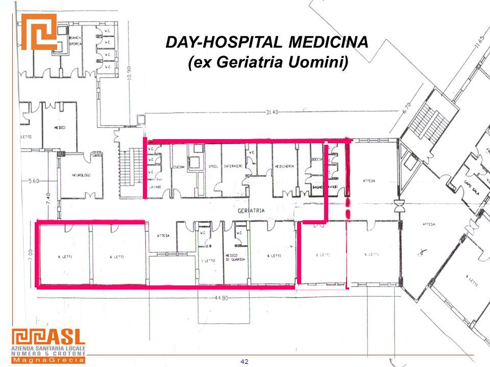42 DAY-HOSPITAL MEDICINA (ex Geriatria Uomini)