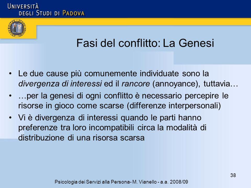 38 Psicologia dei Servizi alla Persona- M.Vianello - a.a.