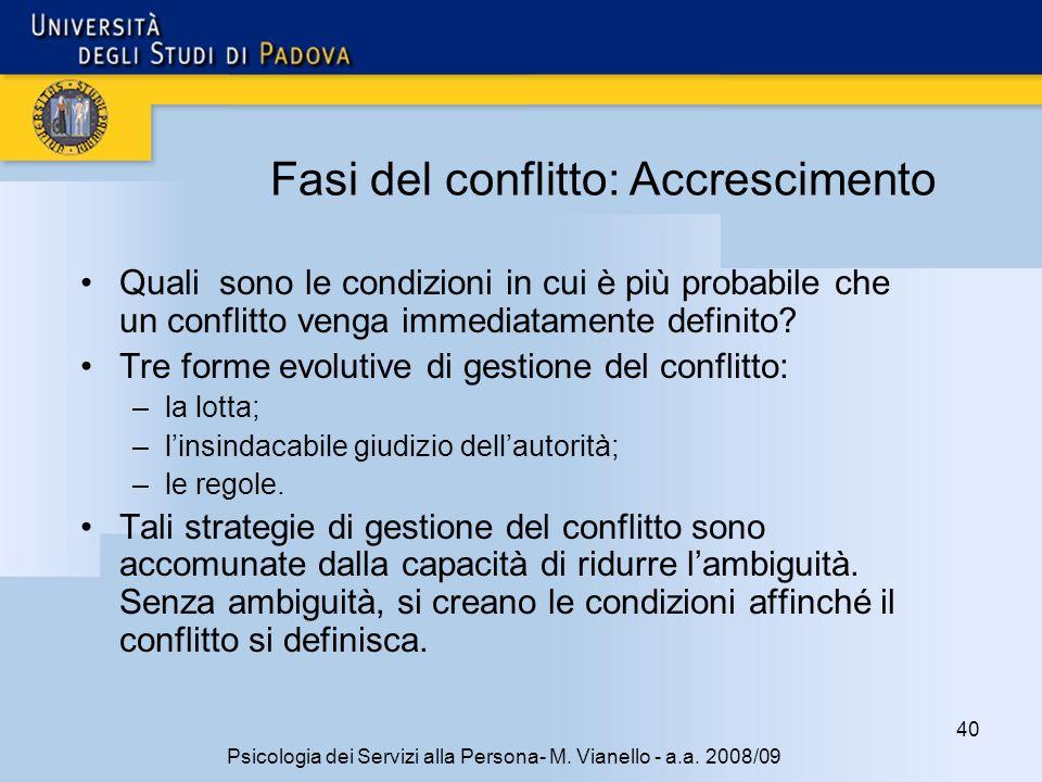 40 Psicologia dei Servizi alla Persona- M.Vianello - a.a.