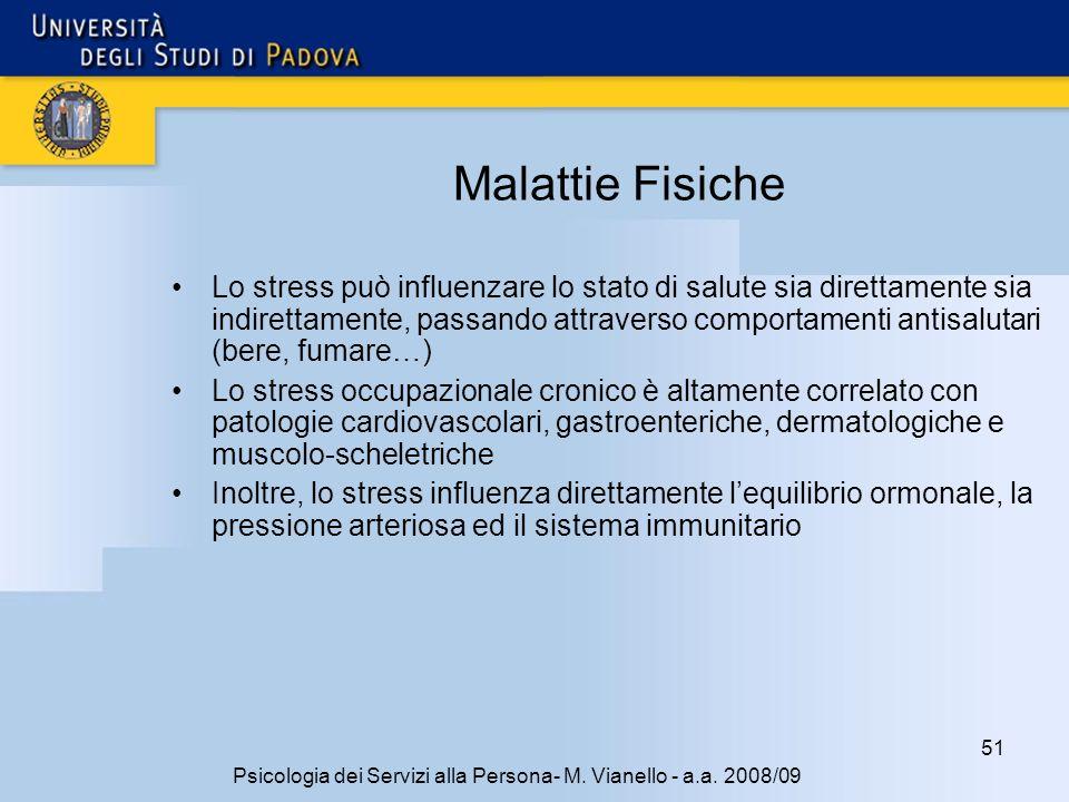 51 Psicologia dei Servizi alla Persona- M.Vianello - a.a.