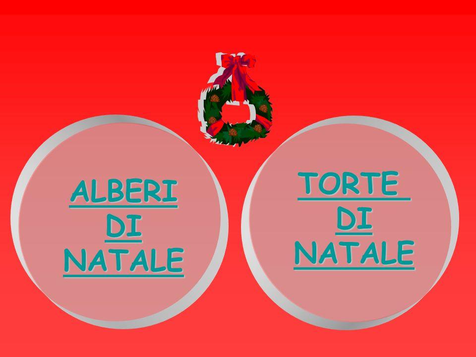 TORTE DI NATALE ALBERI DI NATALE