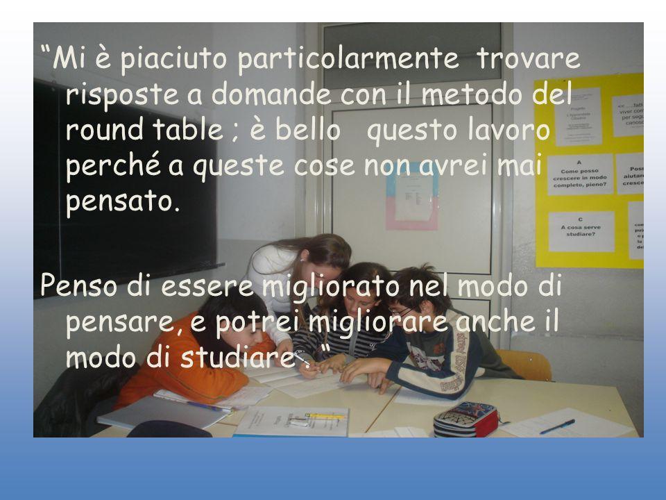 Per concludere abbiamo espresso le nostre impressioni sulle attività svolte, in interviste condotte in ogni classe.