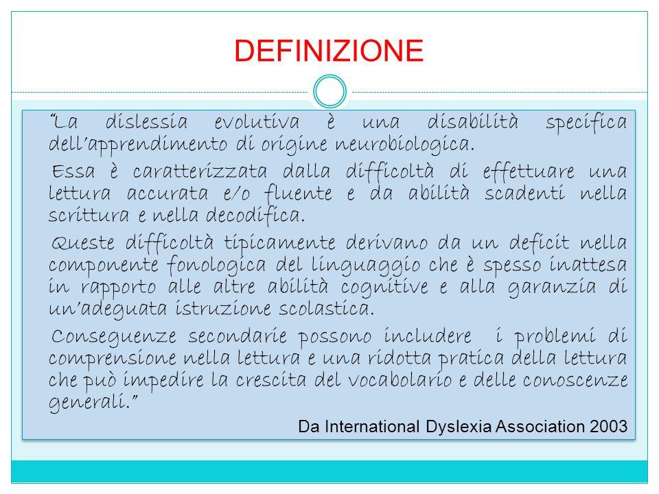 DISLESSIA, DISGRAFIA, DISORTOGRAFIA, DISCALCULIA - DISORTOGRAFIA: Difficoltà ortografica.