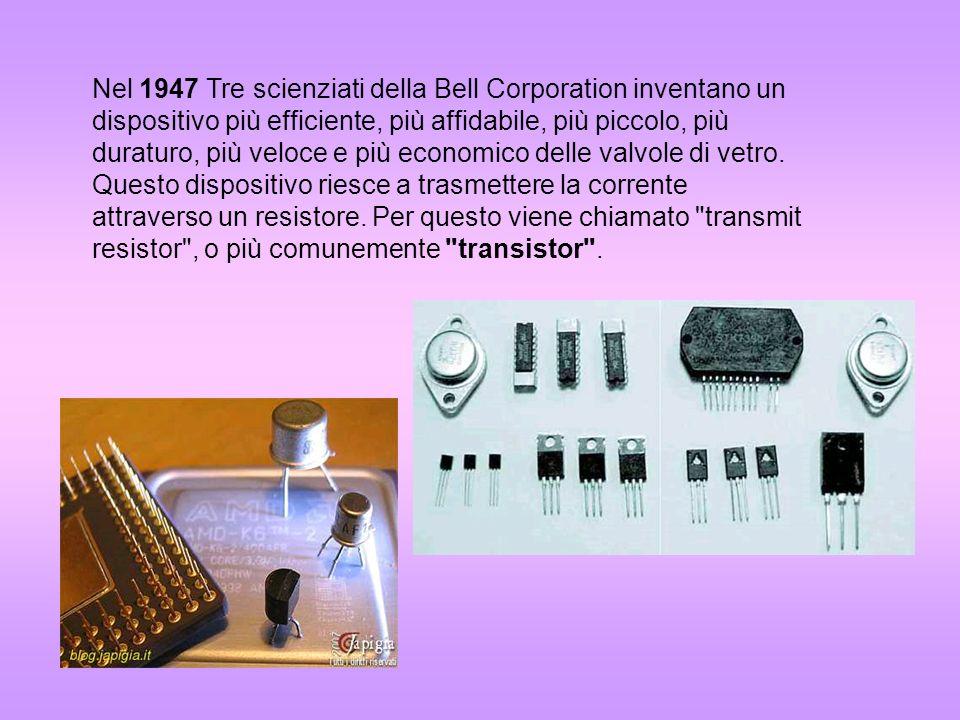1950 nasce il primo computer costruito in serie UNIVAC 1.