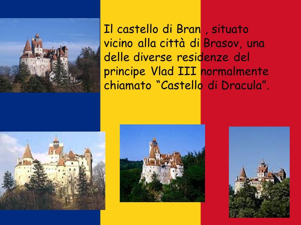 Il castello di Bran, situato vicino alla città di Brasov, una delle diverse residenze del principe Vlad III normalmente chiamato Castello di Dracula.