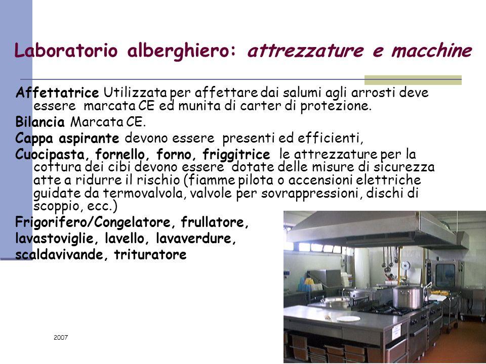 2007 104/116 Attività artistiche collaterali: gli interventi Evitare di approntare gli impianti elettrici provvisori con soluzioni non rispondenti all