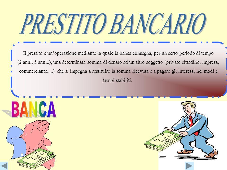 La banca prima di concedere un fido valuta: se colui che richiede il credito sarà in grado di assolvere con regolarità i propri impegni. Il sig. Rossi