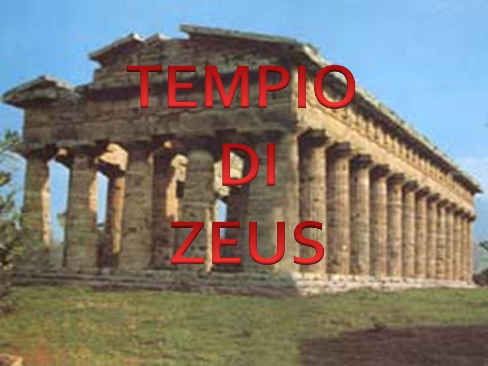 Il tempio di Zeus ad Olimipia, era un tempio greco di ordine dorico; costruito tra il 470 e il 456 a.C., fu l edificio più imponente ed importante all interno del recinto (Antis) dell area sacra di Olimpia, sostituendo in questo ruolo l Heraion: tempio di Era.