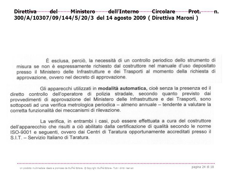 pagina 24 di 18 Un prodotto multimediale ideato e promosso da Giuffré Editore.