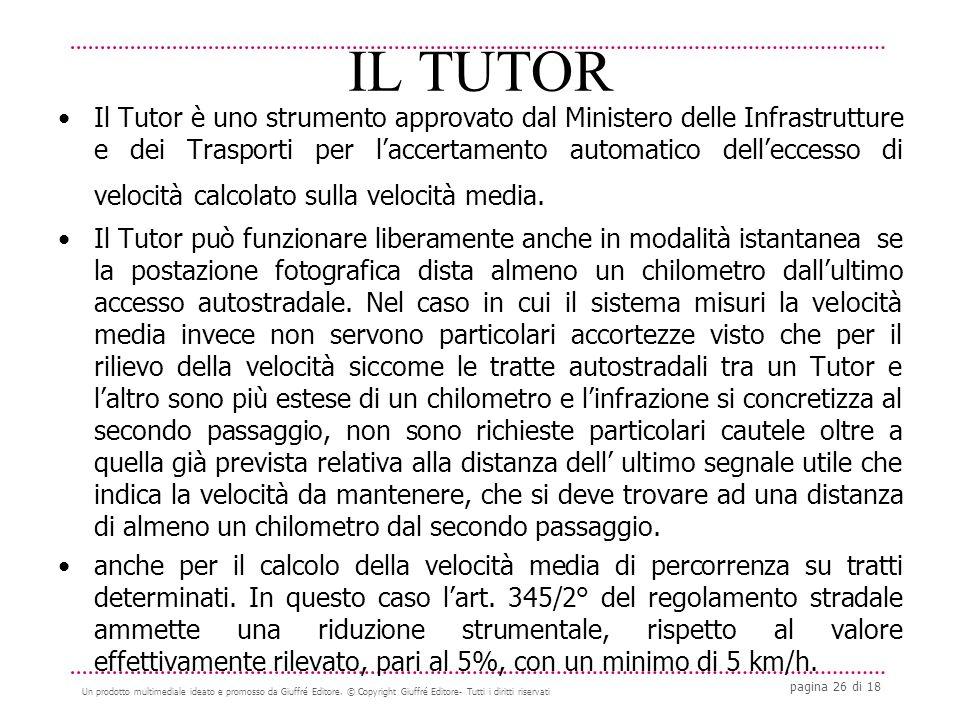 pagina 26 di 18 Un prodotto multimediale ideato e promosso da Giuffré Editore.