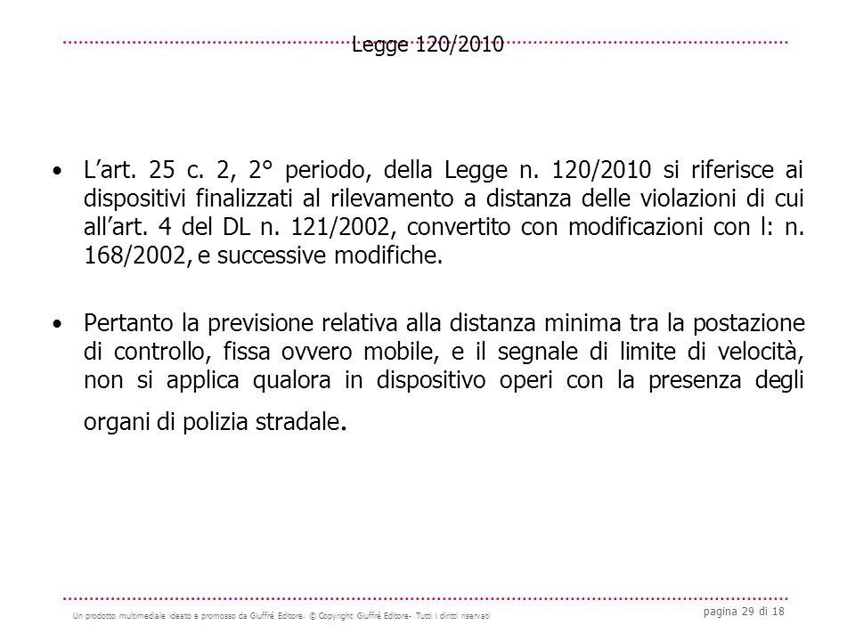 pagina 29 di 18 Un prodotto multimediale ideato e promosso da Giuffré Editore.