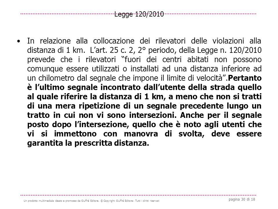pagina 30 di 18 Un prodotto multimediale ideato e promosso da Giuffré Editore.