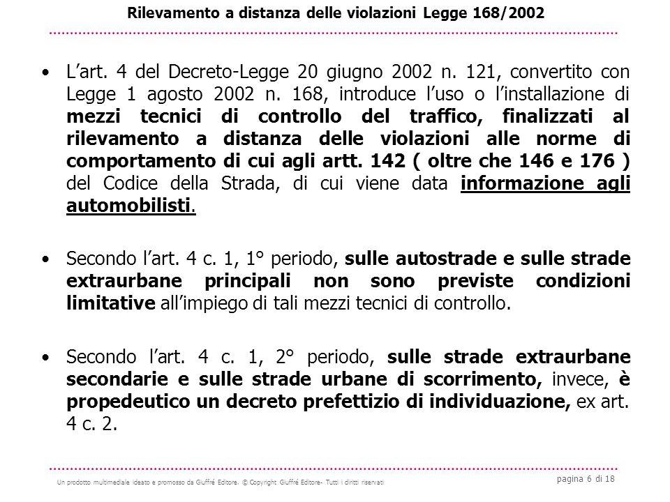 pagina 6 di 18 Un prodotto multimediale ideato e promosso da Giuffré Editore.