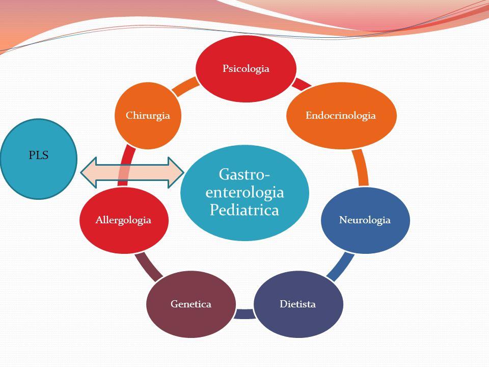Gastro- enterologia Pediatrica PsicologiaEndocrinologiaNeurologiaDietistaGeneticaAllergologiaChirurgia PLS