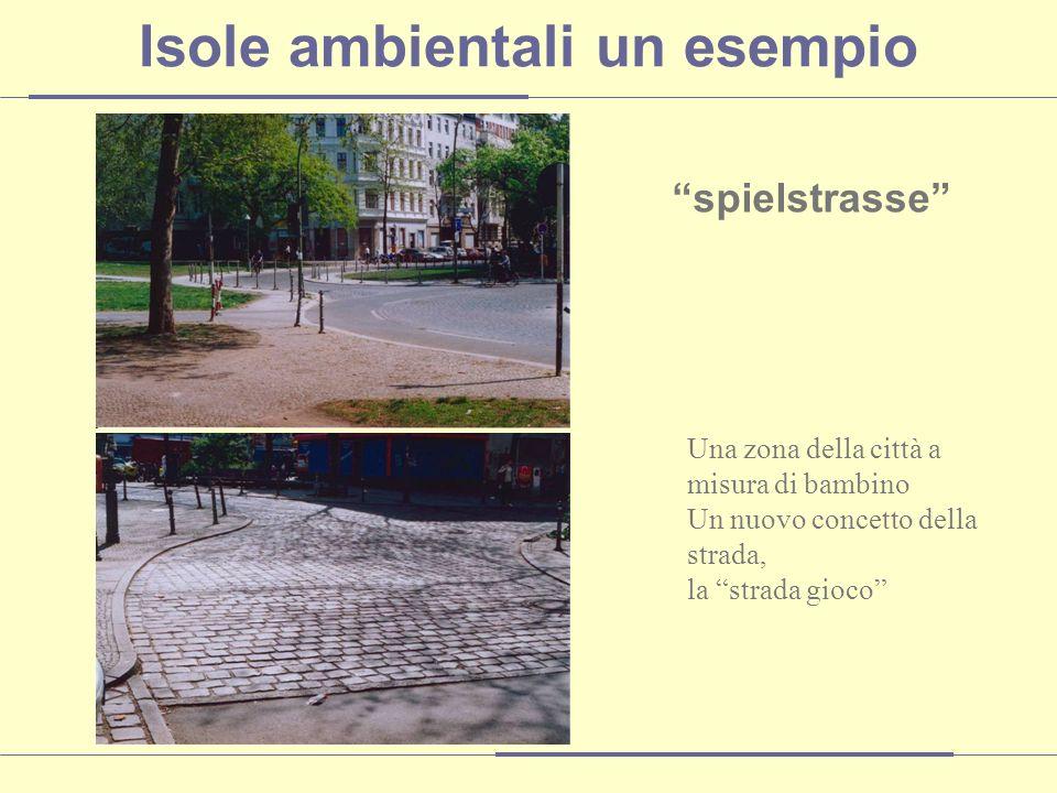 spielstrasse Una zona della città a misura di bambino Un nuovo concetto della strada, la strada gioco Isole ambientali un esempio