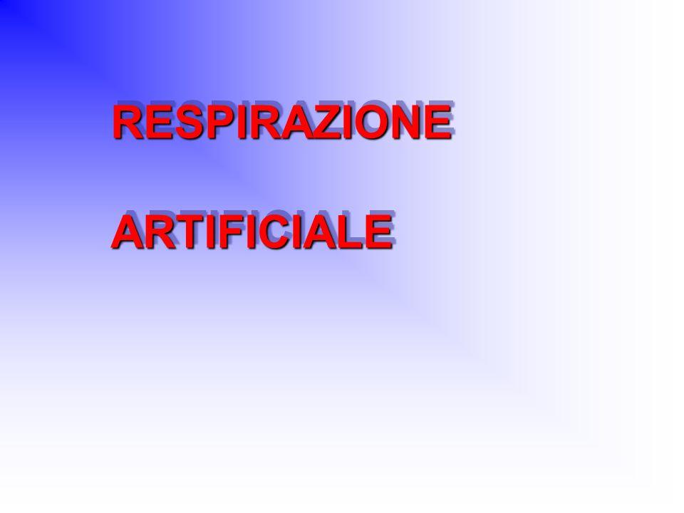 RESPIRAZIONEARTIFICIALERESPIRAZIONEARTIFICIALE