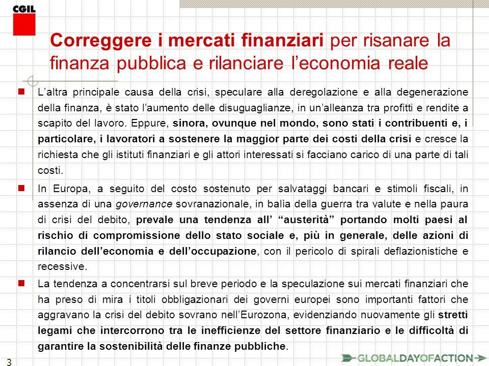 14 Una simulazione: circa 3,9 miliardi di euro per lItalia Secondo lanalisi dellIstituto Austriaco di Ricerca Economica (WIFO), che applica unaliquota media dello 0,05% su tutte le transazioni finanziarie: a pronti e sui derivati effettuate nei mercati organizzati (es.