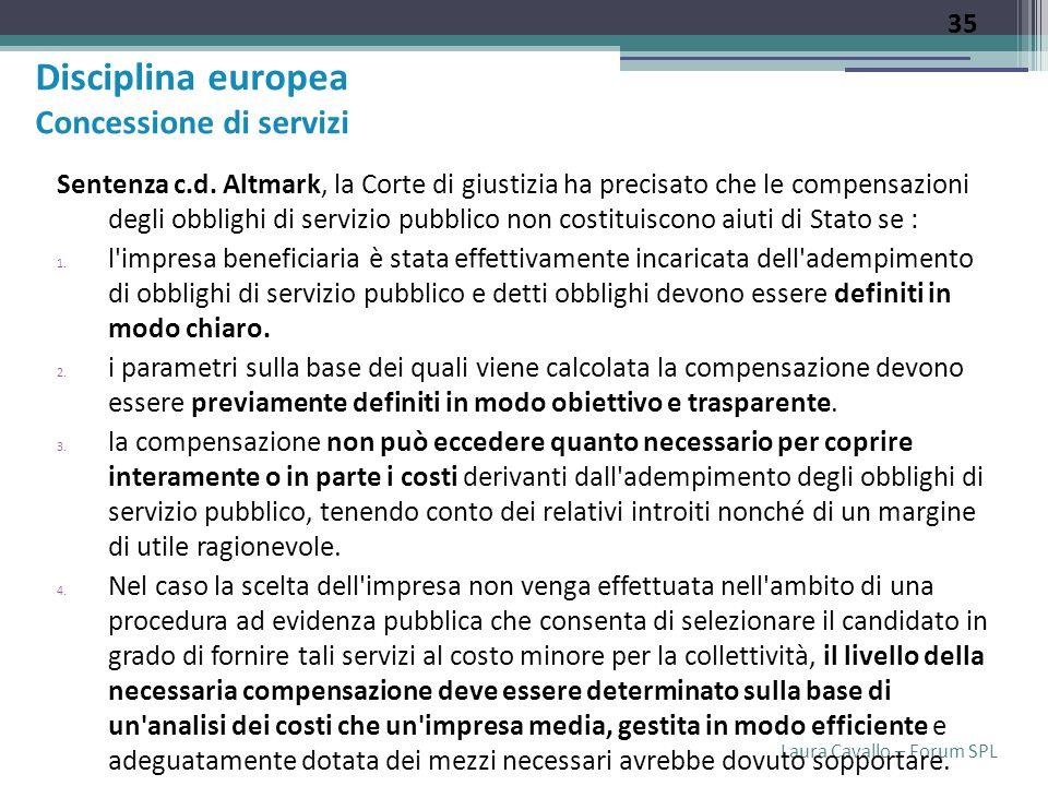 Laura Cavallo – Forum SPL Sentenza c.d.