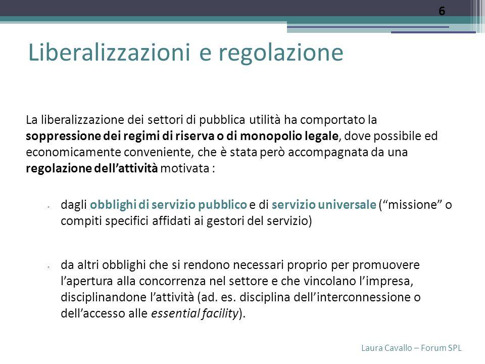 Laura Cavallo – Forum SPL Servizi pubblici locali Art.