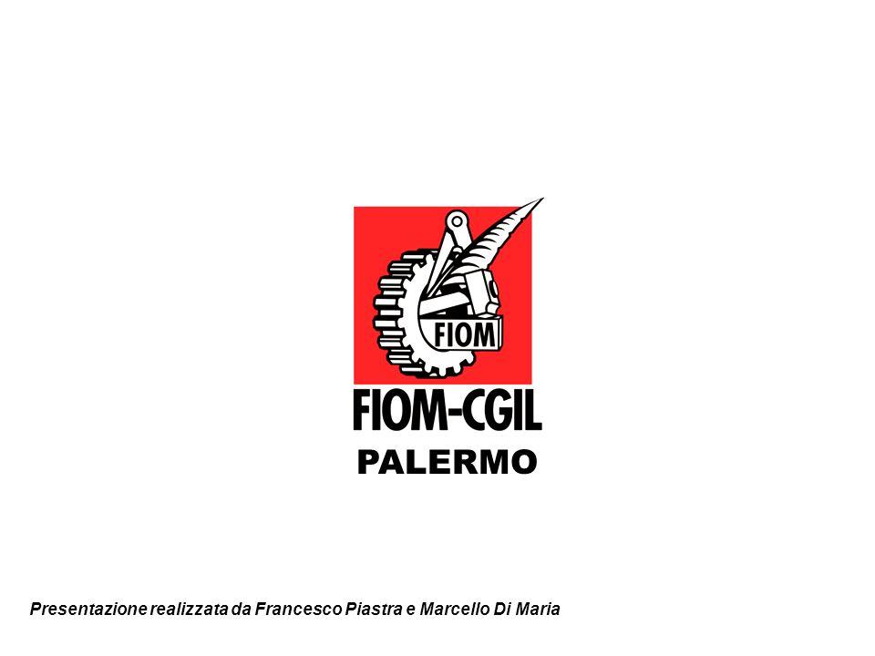 Presentazione realizzata da Francesco Piastra e Marcello Di Maria PALERMO
