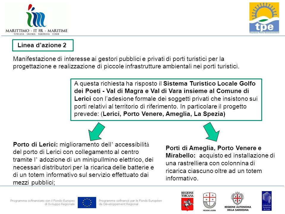 Manifestazione di interesse ai gestori pubblici e privati di porti turistici per la progettazione e realizzazione di piccole infrastrutture ambientali nei porti turistici.