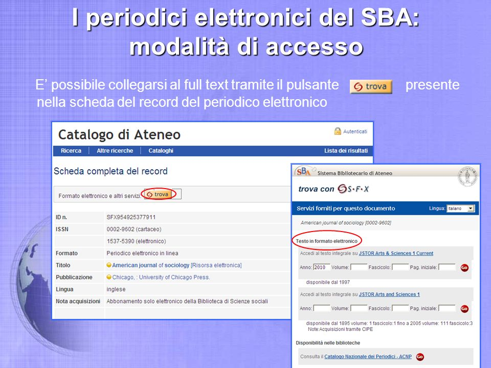 DarwinBooks: accesso al full text